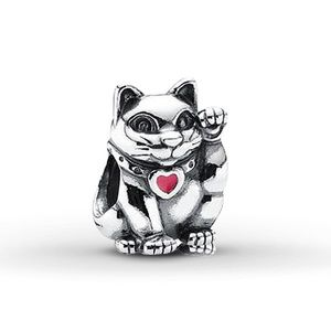 Pandora Retired Lucky Cat Charm